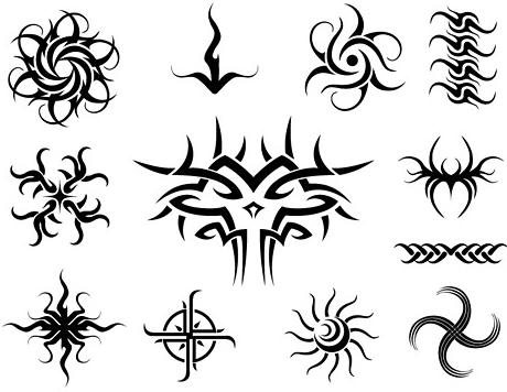 Disegni per tatuaggi tribali maori stelle fiori e fate for Disegni fiori per tatuaggi